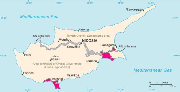 British Sovereign Base Areas in Cyprus